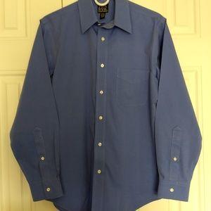 Jos. A. Bank long sleeve dress shirt   15-32  slim